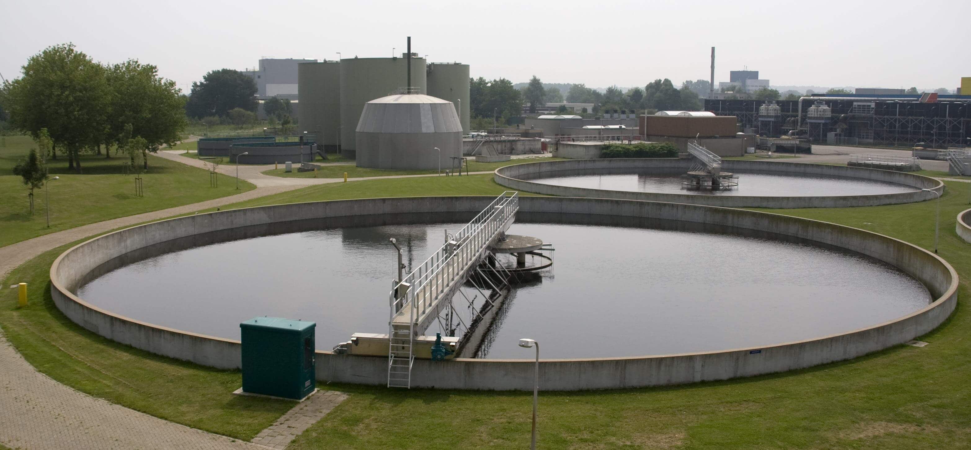 Gas Detection in Waste Water Treatment
