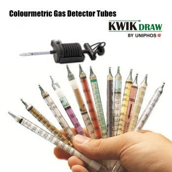 KwikDraw Tubes (Draeger Tubes) serves the widespread gas